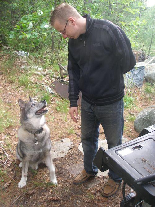Mr. Wolf grilling - Sarah OHIO - PARRY SOUND
