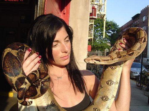 M & snake