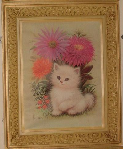 Beautiful kitten art2_Portland_Sara