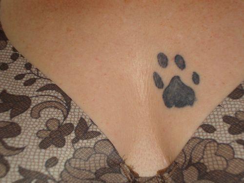 Mouse Paw Tatt